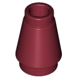 LEGO 4519997 CONE 1X1 - NEW DARK RED