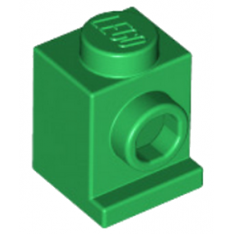 LEGO 407028 ANGULAR BRIQUE  1X1 - DARK GREEN