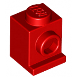LEGO 407021 ANGULAR BRIQUE 1X1 - ROUGE