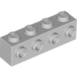 LEGO 4211636 BRIQUE 1X4 W. 4 KNOBS - MEDIUM STONE GREY