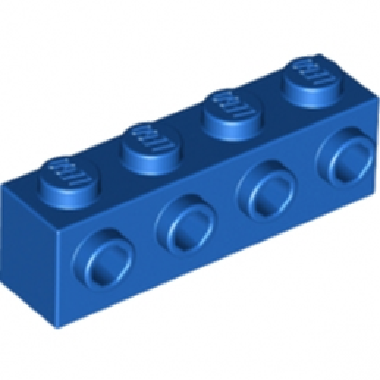 LEGO 4141768 BRIQUE 1X4 W. 4 KNOBS - BLEU