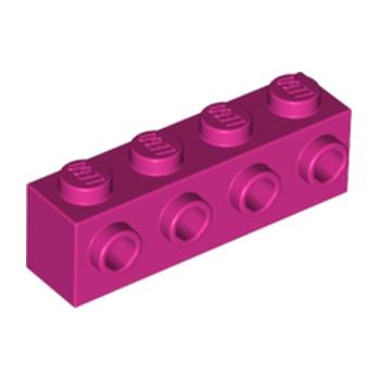 LEGO 4621182 BRIQUE 1X4 W. 4 KNOBS - MAGENTA