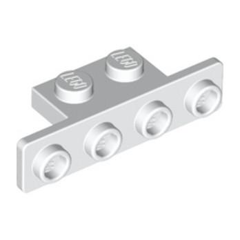 LEGO 6089574 ANGLE PLATE 1X21X4 - BLANC