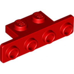 LEGO 6168619 ANGLE PLATE 1X2/1X4 - RED