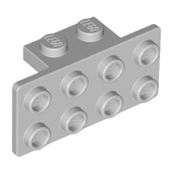 LEGO 4613165 ANGLE PLATE 1X2  2X4 - MEDIUM STONE GREY