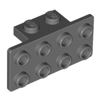 LEGO 4648067 ANGLE PLATE 1X2  2X4 - DARK STONE GREY