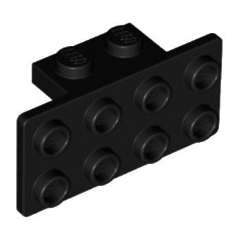 LEGO 4616245 ANGLE PLATE 1X2  2X4 - NOIR