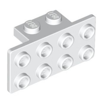LEGO 4624700 ANGLE PLATE 1X2 / 2X4 - BLANC
