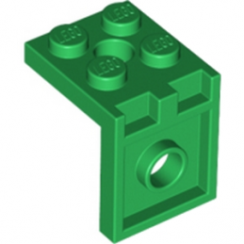 LEGO 6117024 PLATE 2X2 ANGLE - DARK GREEN