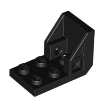 LEGO 459826 SEAT 2X3X2 - NOIR