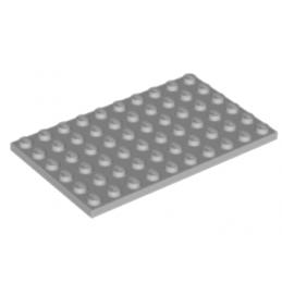 LEGO 4211405 PLATE 6X10 - MEDIUM STONE GREY