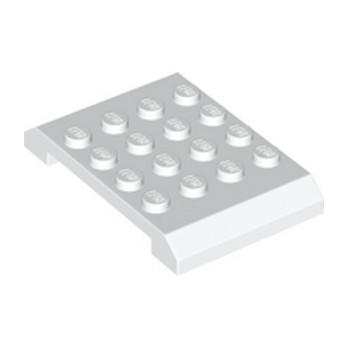 LEGO 6184866 SHELL, 4X6X2/3  - BLANC