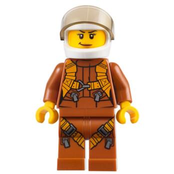 Figurine Lego® City - Pilote figurine-lego-city-la-jungle-pilote ici :
