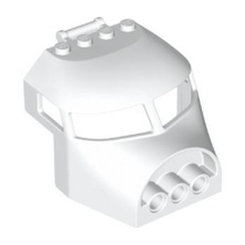 LEGO 6195432 NEZ AVION 6X6X4 - BLANC lego-6195432-nez-avion-6x6x4-blanc ici :