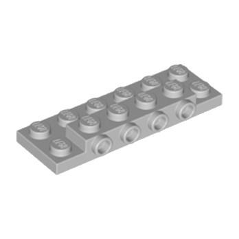 LEGO 6102575 PLATE 2X6X23 W 4 HOR. KNOB - MEDIUM STONE GREY