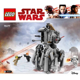 Notice / Instruction Lego Star Wars 75177