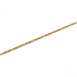 LEGO 6135319 AXE / BARRE SPIRALE 32M - WARM GOLD