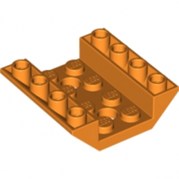 LEGO 6186382 ROOF TILE 4X4/45° INV. - ORANGE