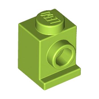 LEGO 6315194 ANGULAR BRICK 1X1 - BRIGHT YELLOWISH GREEN