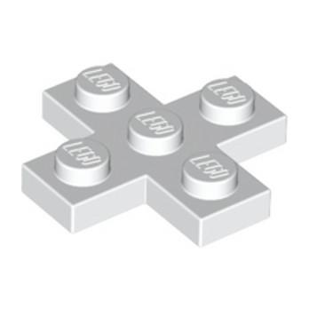 LEGO 6099412 CROIX PLATE 3x3  - BLANC lego-6099412-croix-plate-3x3-blanc ici :