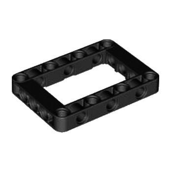 LEGO 6016154 BEAM FRAME 5X7 Ø 4.85 - NOIR