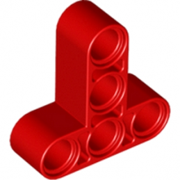 LEGO  6194079 T-BEAM 3X3 W/HOLE Ø4.8 - ROUGE lego-6194079-t-beam-3x3-whole-o48-rouge ici :