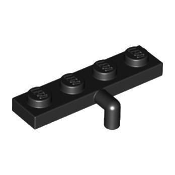 LEGO 3004326 PLATE 1X4 W. REV. HOOK - NOIR