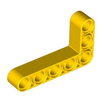 LEGO 4144022 TECHNIC ANG. BEAM 3X5 90 DEG. - JAUNE