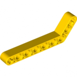 LEGO 4544005 TECHNIC ANGULAR BEAM 3X7 - JAUNE
