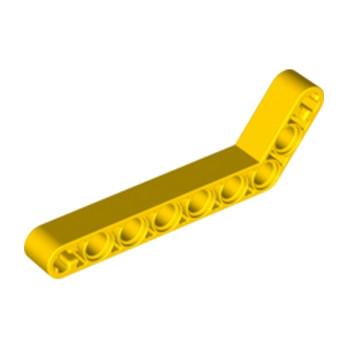 LEGO 4544005 TECHNIC ANGULAR BEAM 3X7 - JAUNE