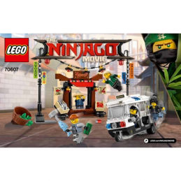 Notice / Instruction Lego Ninjago 70607