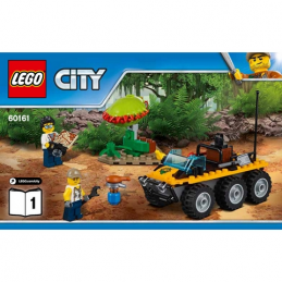 Notice / Instruction Lego City - La Jungle 60161