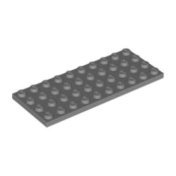 LEGO 4211122 PLATE 4X10 - DARK STONE GREY lego-4211122-plate-4x10-dark-stone-grey ici :