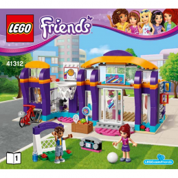 Notice / Instruction Lego Friends 41312