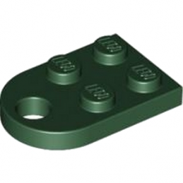 LEGO 4276568 COUPLING PLATE 2X2  - EARTH GREEN