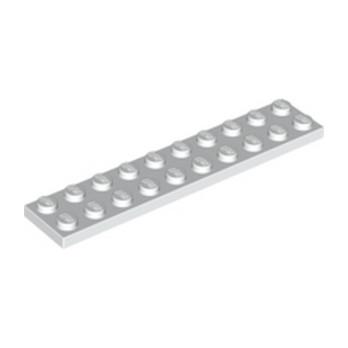 LEGO 383201 PLATE 2X10 - BLANC