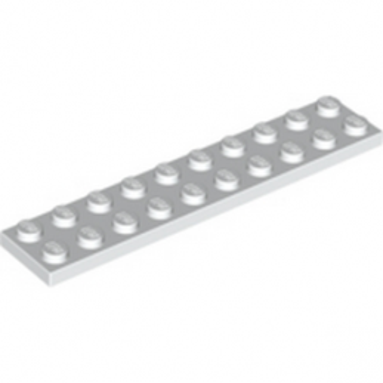 LEGO 383201 PLATE 2X10 - WHITE