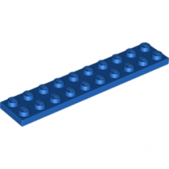 LEGO 383223  PLATE 2X10 - BLEU
