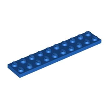 LEGO 383223 PLATE 2X10 - BLUE
