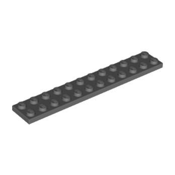 LEGO 4211067 PLATE 2X12 - DARK STONE GREY