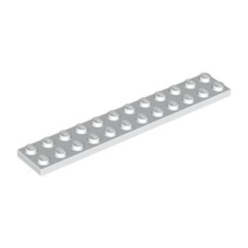 LEGO 244501 PLATE 2X12 - BLANC