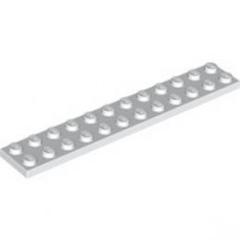 LEGO 244501 PLATE 2X12 - WHITE