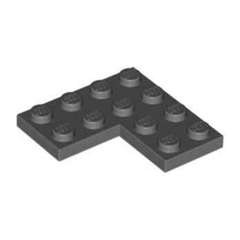 LEGO 4539429  PLATE  D'ANGLE 2X4X4 - DARK STONE GREY