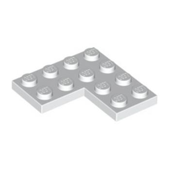 LEGO 4212128  PLATE D'ANGLE 2X4X4 - BLANC
