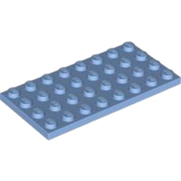 LEGO 4587271 PLATE 4X8 - MEDIUM BLUE