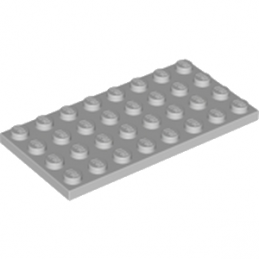 LEGO 4211407 PLATE 4X8 - MEDIUM STONE GREY