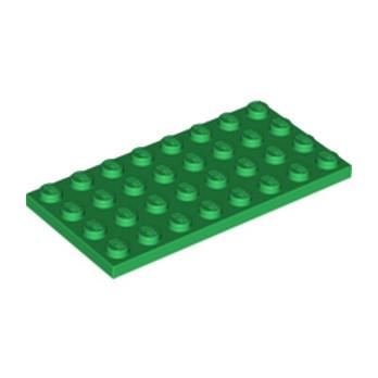 LEGO 4277361 PLATE 4X8 - DARK GREEN lego-4277361-plate-4x8-dark-green ici :
