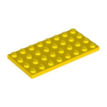 LEGO 303524 PLATE 4X8 - YELLOW