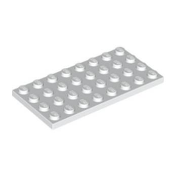 LEGO 303501 PLATE 4X8 - WHITE