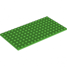 LEGO 4610353 PLATE 8X16 - BRIGHT GREEN